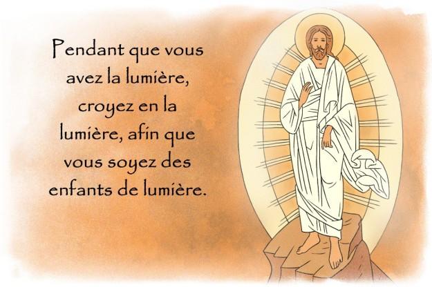 1. La lumière de la foi (Lumen Fidei)/ Christ-lumiere